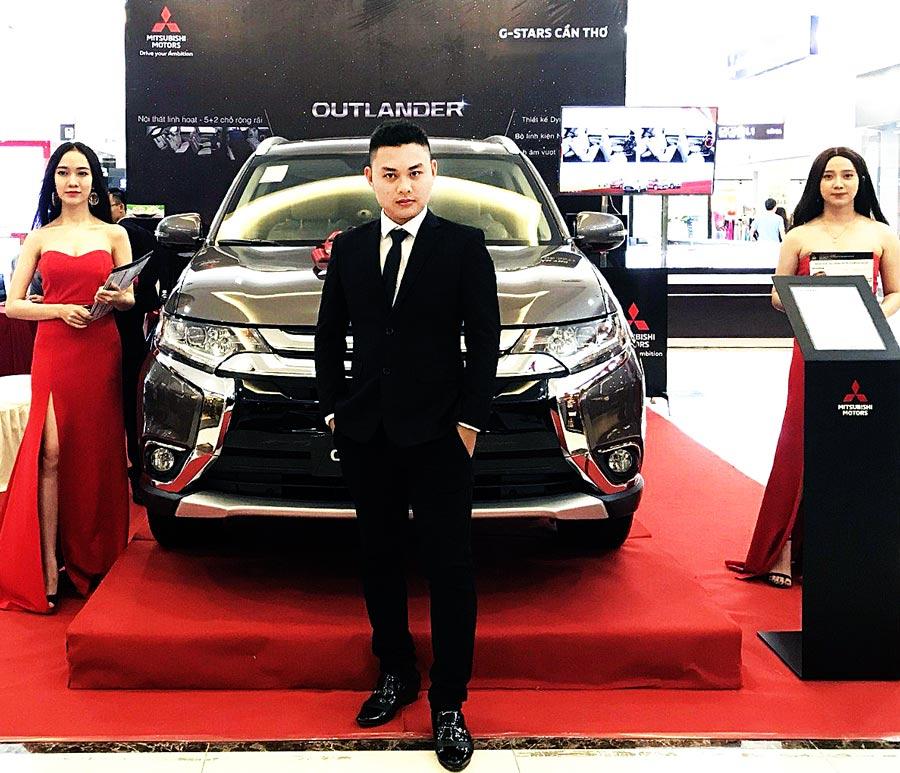 Chuyên viên tư vấn kinh doanh tại Mitsubishi Cần Thơ - Mr Tony.