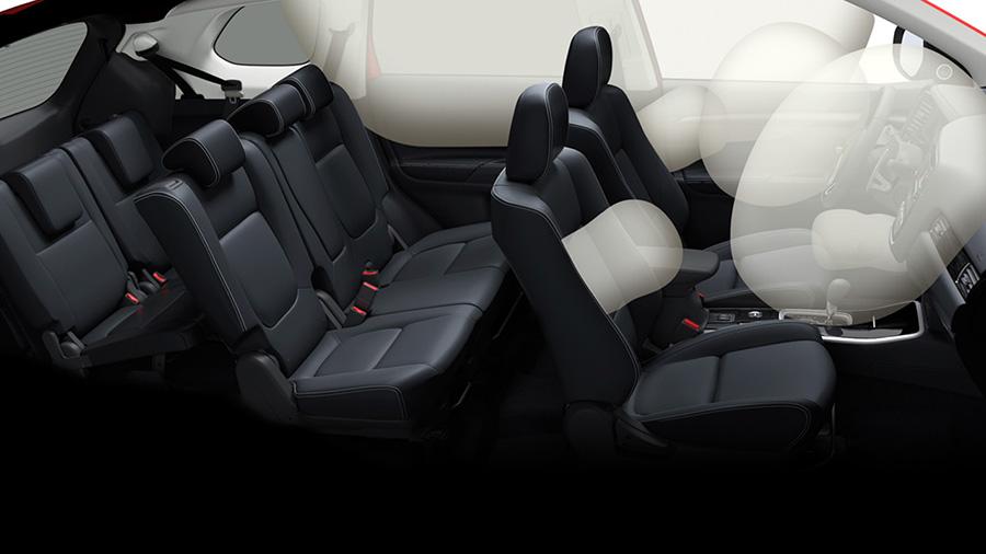 An toàn trên Mitsubishi Outlander
