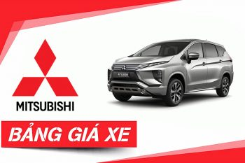 Bảng giá Mitsubishi Cần Thơ