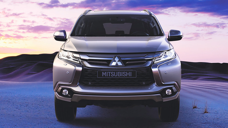 Mitsubishi Pajero Sport 2019 - Thiết kế Dynamic Shield