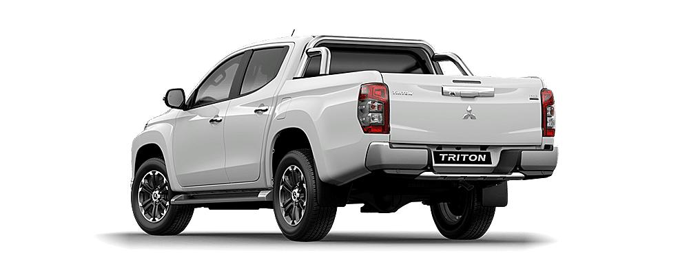 Đuôi xe và thùng xe Mitsubishi Triton 2019