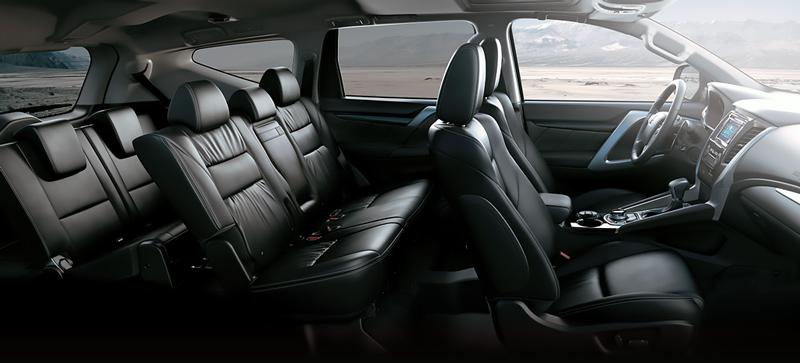 Nội thất Mitsubishi Pajero Sport 2019