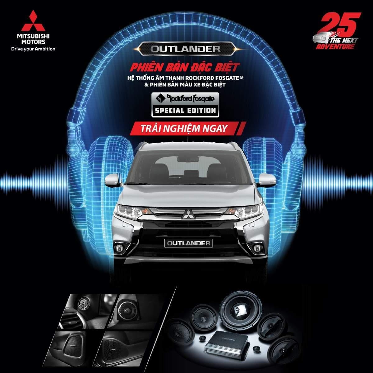 Mitsubishi Outlander Phiên bản đặc biệt Special Edition