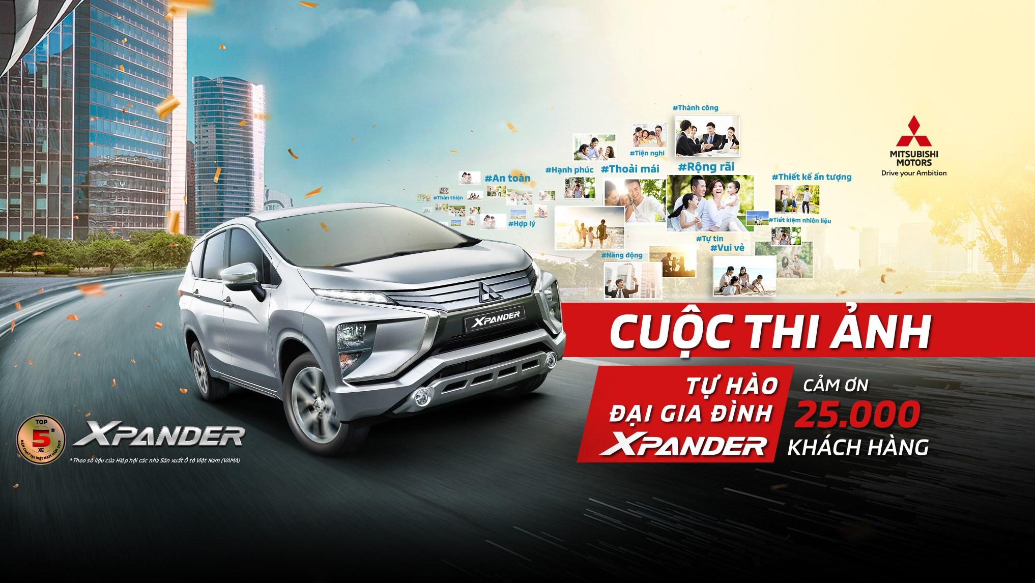 """Kết quả cuộc thi ảnh """"Tự hào đại gia đình Mitsubishi Xpander"""" lần 1"""