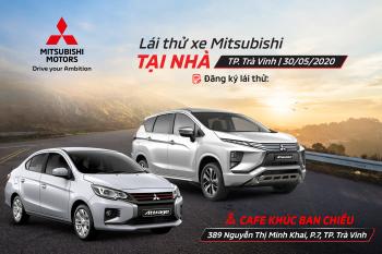 Chương trình lái thử & cảm nhận các dòng xe Mitsubishi tại Trà Vinh