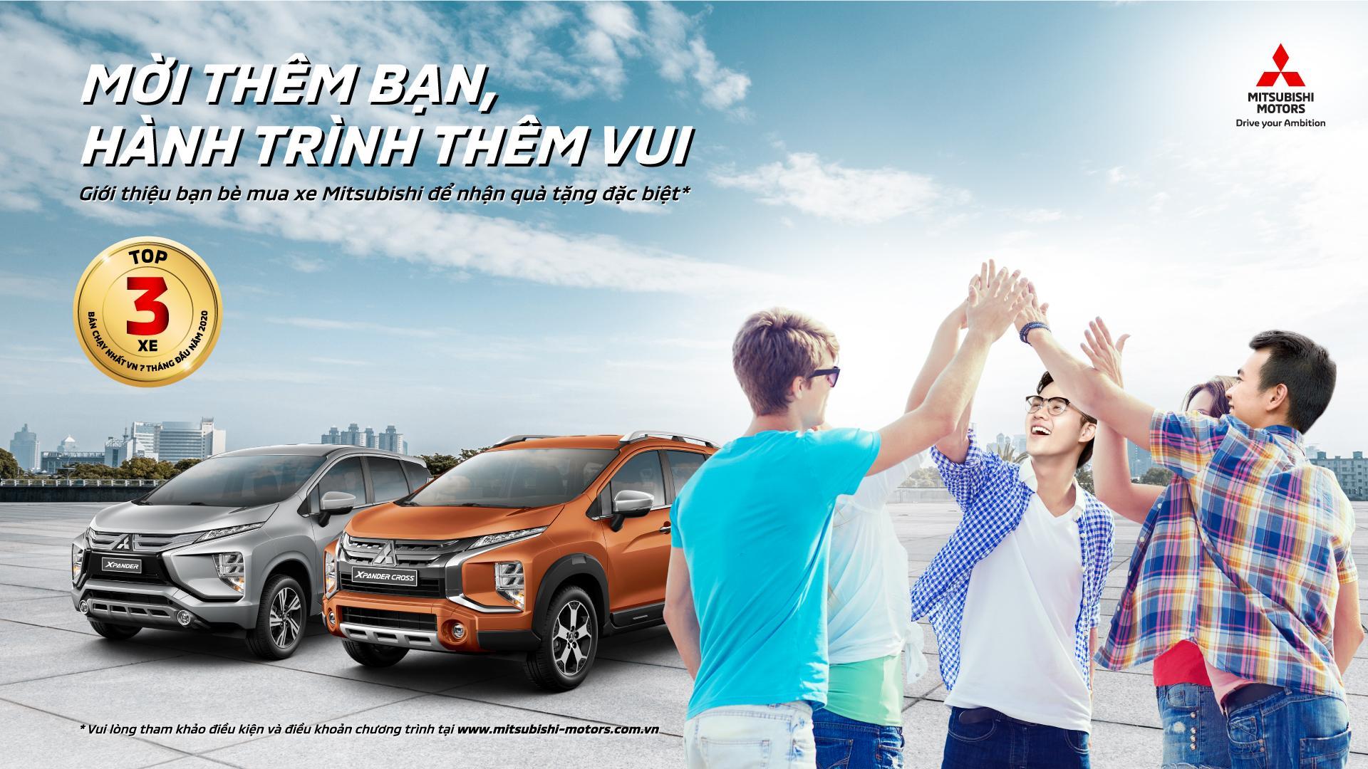 Trở thành môi giới Xe Mitsubishi chuyên nghiệp: Mời thêm bạn - Hành trình thêm vui